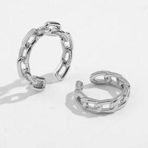 Silver earcuff set of two